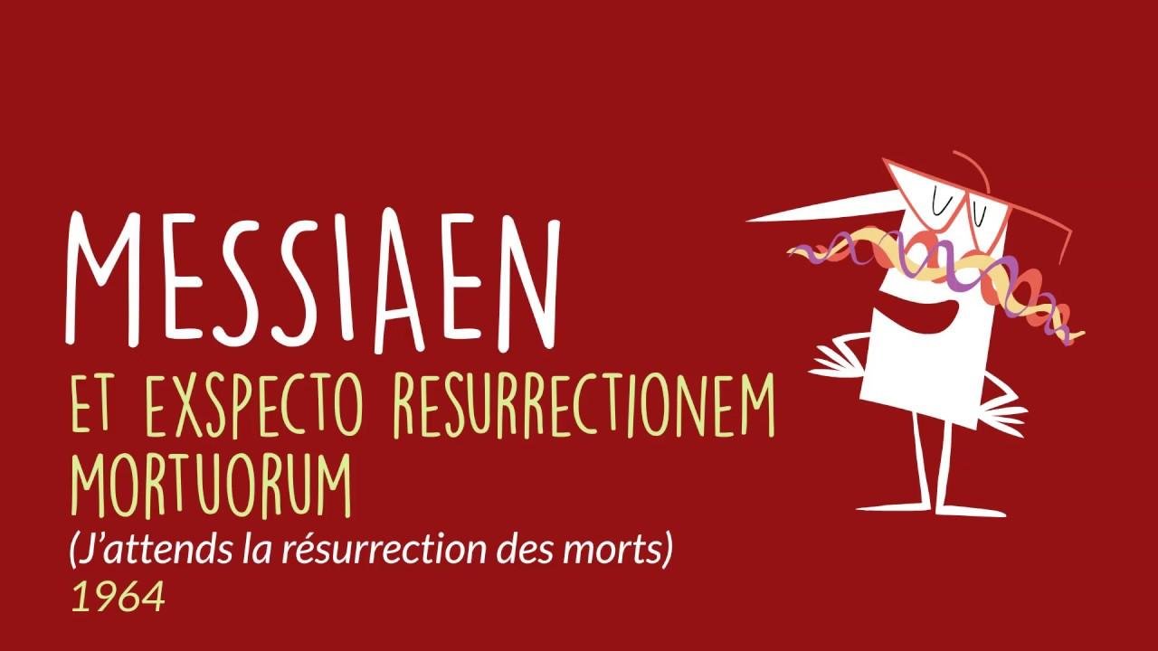 Et exspecto resurrectionem mortuorum (J'attends la résurrection des morts)