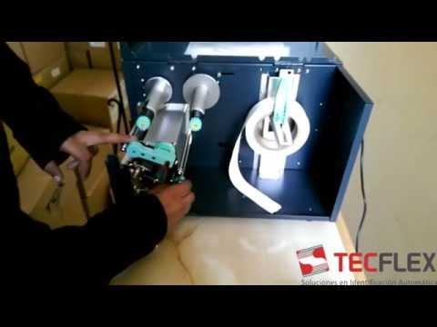 TECFLEX - Impresora de cinta textil ARGOX X3200