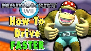 How To Drive FASTER in Mario Kart Wii (Delayed Drifting)