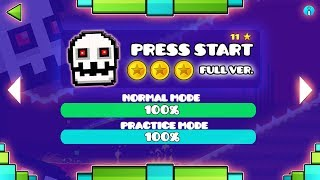 PRESS START FULL VERSION!! - GEOMETRY DASH 2.11!!