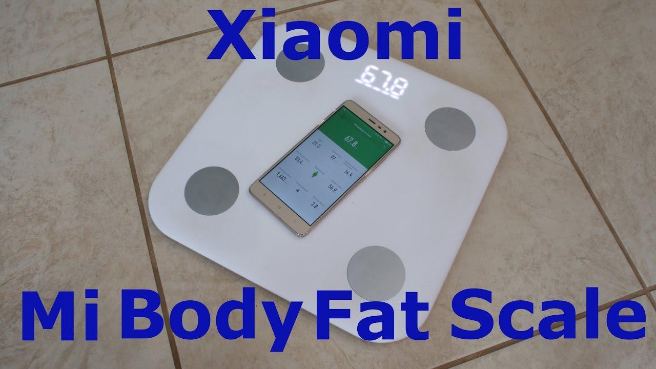 Видео Xiaomi Mi Body Composition Scale