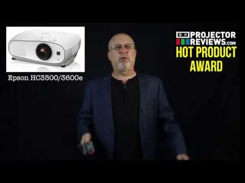 The Epson Home Cinema 3500/3600e Overview presented by Projector Reviews TV