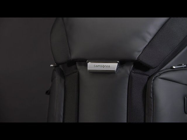 "Alu Biz Laptop Rucksack  15.6"" video 1"