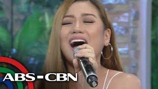 "UKG: Morisette performs her single ""Akin Ka Na Lang"""