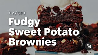 easy to make healthy chocolate brownies
