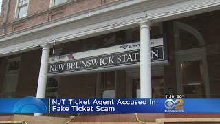 New Jersey Ticket Agent Accused In Fake Ticket Scam