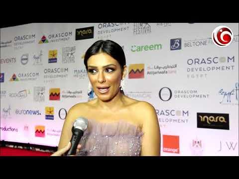 """إنجي المقدم لـ """"في الفن"""": متحمسة للأفلام المصرية في مهرجان الجونة.. """"يوم الدين"""" و""""شوكة وسكينة"""""""