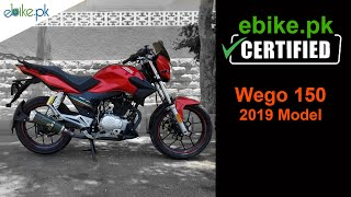 Road Prince Wego 150 2019 Model | ebike.pk Certified Bikes