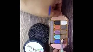 Color cleaner atau pembersih kuas esha glow. beauty blender. brush set. brush make up