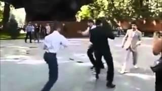 Драка на свадьбе / Fight at a wedding