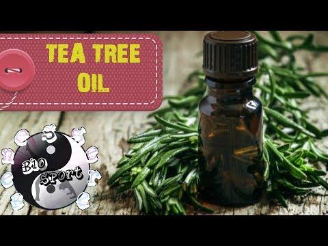 Olio essenziale di TEA TREE OIL - Albero del tè - Melaleuca Alternifolia