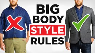 How To Dress Sharp... Even If Youre FAT (21 Large Guy Style Tips)