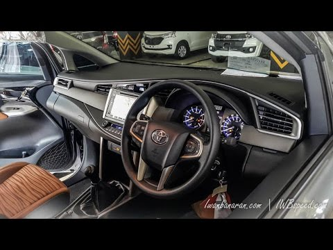 Interior completely peeled new Innova 2016
