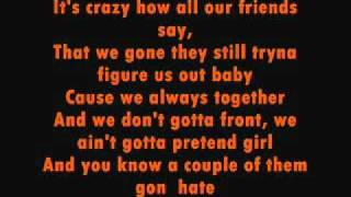 chris brown - young love(with lyrics)