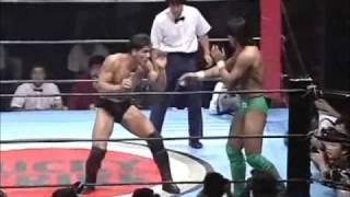 Pancrase:  Masakatsu Funaki vs Frank Shamrock (1995)