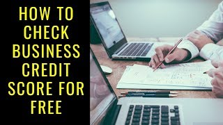 How To Check Business Credit Score For Free