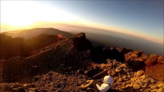 Bestigning Af Mount. Rinjani Vulkanen