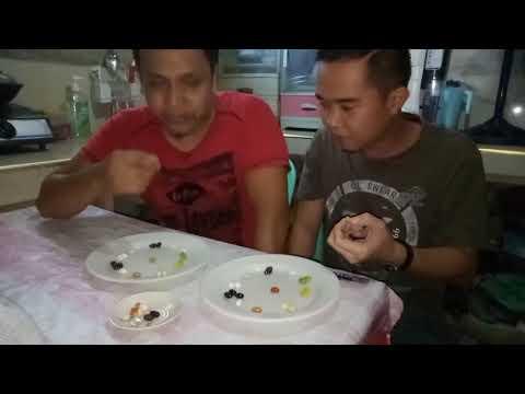 Pinag-aaralan sa mga uod sa mga bata Hemotest