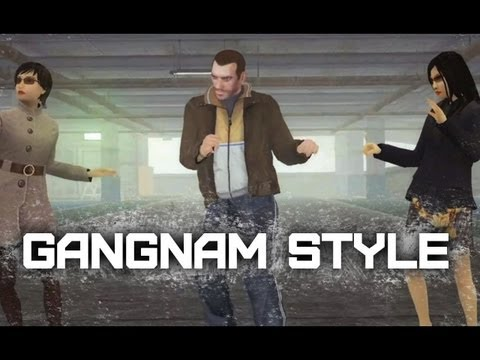 GTA IV Brings The Curtain Down On Gangnam Style Videos