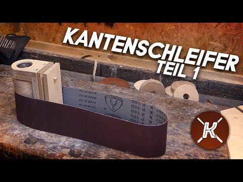 Kantenschleifer selbst bauen || Die Einführung, Welle, Lenkrolle, Rahmen || Philipp Konter