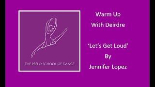 Warm up with Deirdre
