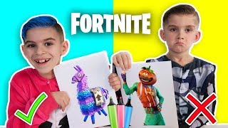 3 MARKER CHALLENGE!! (Fortnite Edition)