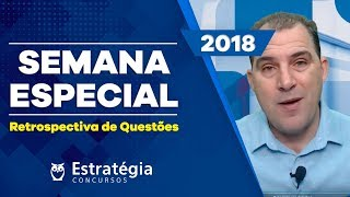 Retrospectiva de Questões 2018: Português