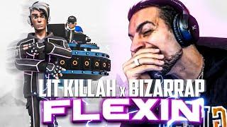 REACCIONANDO A LIT killah x Bizarrap - Flexin'