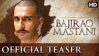 Bajirao Mastani Official Teaser Trailer  Ranveer Singh Deepika Padukone Priyanka Chopra