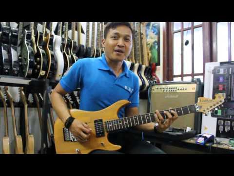 Video belajar melodi gitar secara simple dan cepat dipahami