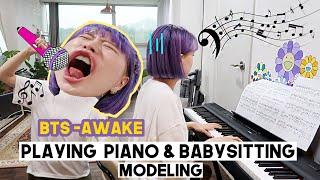 Life In Korea: Babysitting, Modeling, Jewelry Haul & Creating Mama QQs Instagram Lol | Q2HAN