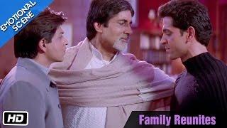 Family Reunites - Emotional Scene - Kabhi Khushi Kabhie Gham