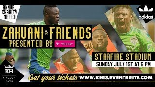 Zakuani & Friends Charity Game Presented by T-Mobile