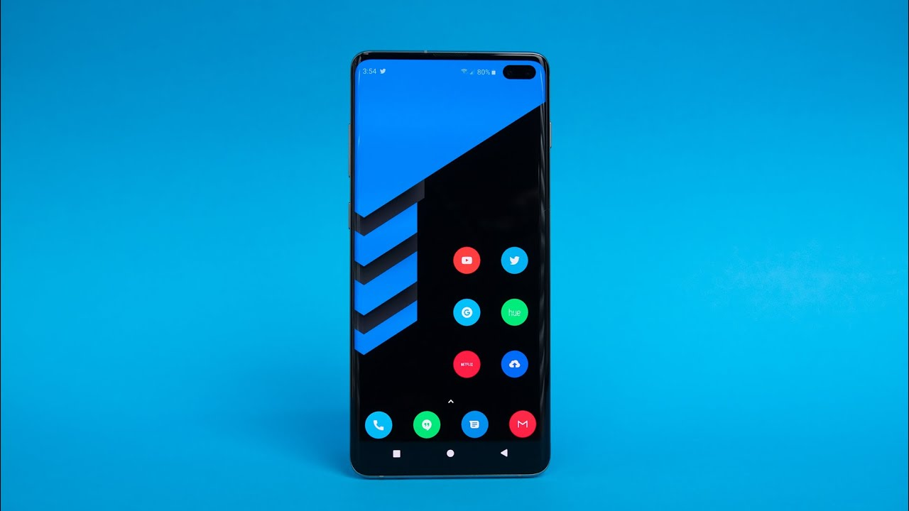 convert mobile android into galaxy s10