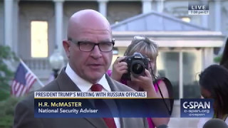 """National Security Adviser: """"The story that came out tonight, as reported, is false."""" (C-SPAN)"""