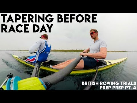 STOPPING ROWING BEFORE A BIG RACE | BRITISH ROWING TRIALS PREP PT. 4