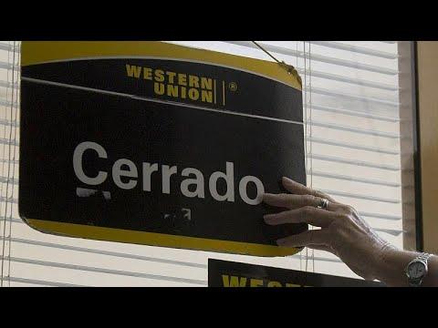 Eines der 407 Western-Union-Büro in Kuba, die geschlossen werden. | Bildquelle: https://www.elnuevoherald.com/noticias/mundo/america-latina/cuba-es/article246854549.html © Ismael Francisco/AP | Bilder sind in der Regel urheberrechtlich geschützt