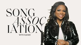 Kandi Sings Ed Sheeran, Destinys Child, And P!nk In A Game Of Song Association | ELLE