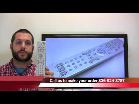 RCR615TNLM1 RCA TV Remote HD61LPW52 HD61LPW52YX1 HD50LPW52 HD50LPW52YX2M1