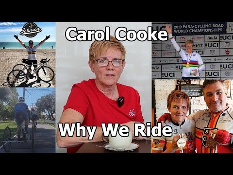 Why We Ride - Carol Cooke - More gold than the US Mint