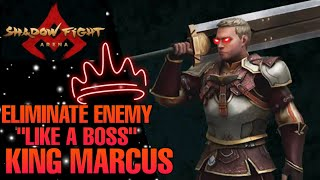 *MARCUS THE RING KING* SHADOW FIGHT ARENA GAMEPLAY HD EARLY ACCESS IOS ANDROID FIGHTING GAMES 2021