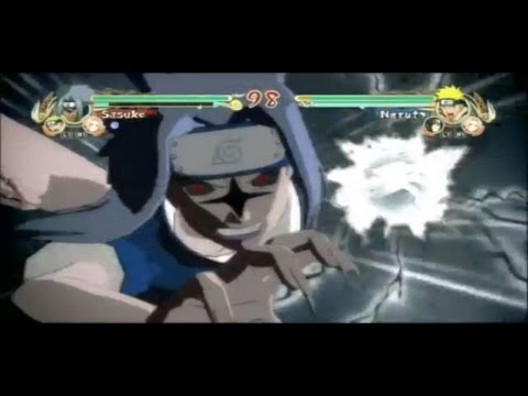Naruto Ultimate Ninja Storm - All Ultimate Jutsus!