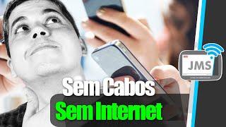Como Transferir APLICATIVOS de um Celular para outro SEM CABOS e SEM INTERNET - CanalJMS