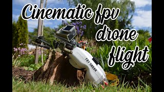 [in The Field] first cinematic fpv drone flight