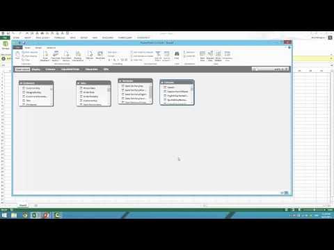 Power Pivot Training - UI Walk Through - YouTube