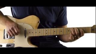 Guitars, Cadillacs - Lead Solo 2 - Dwight Yoakam Guitar Lesson