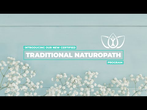 Introducing Trinity's Certified Traditional Naturopath Program ...