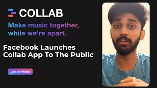 FACEBOOK Launches COLLAB APP to the Public | ENGLISH | TECHBYTES