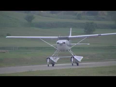 Cessna 206 Amphibian Takeoff