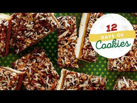 Caramel Chocolate Shortbreads | Food Network